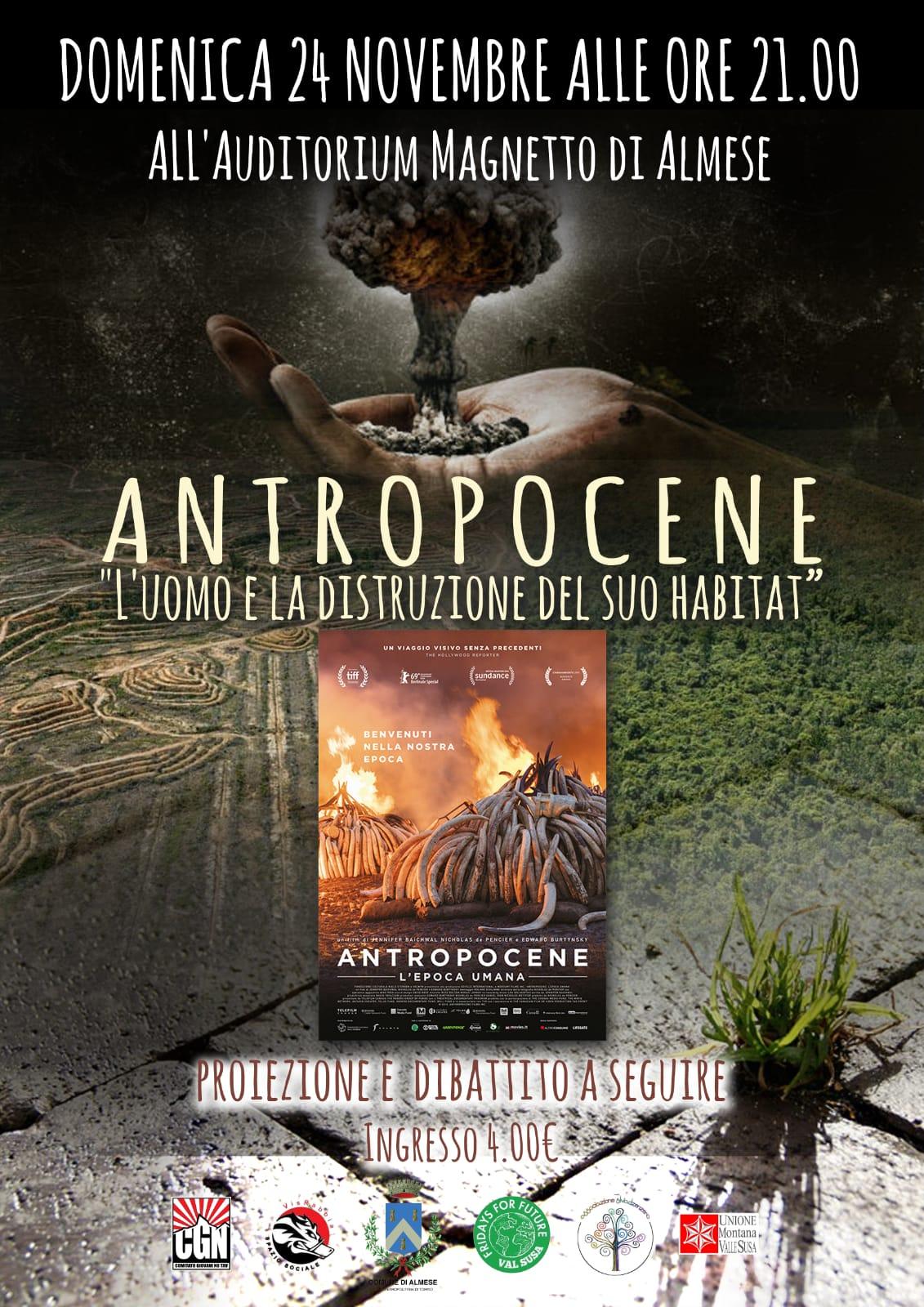 Antropocene, l'epoca umana