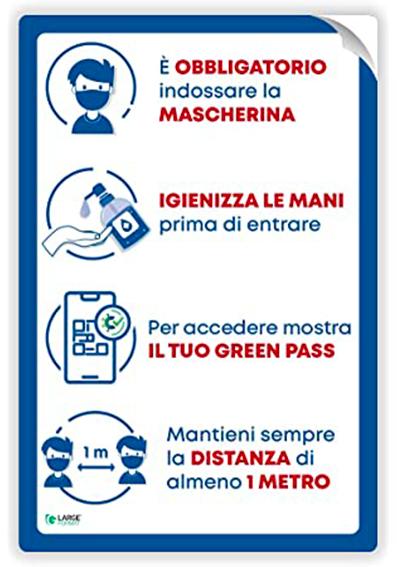 SEMPLICI REGOLE PER L'ACCESSO AL TEATRO CINEMA